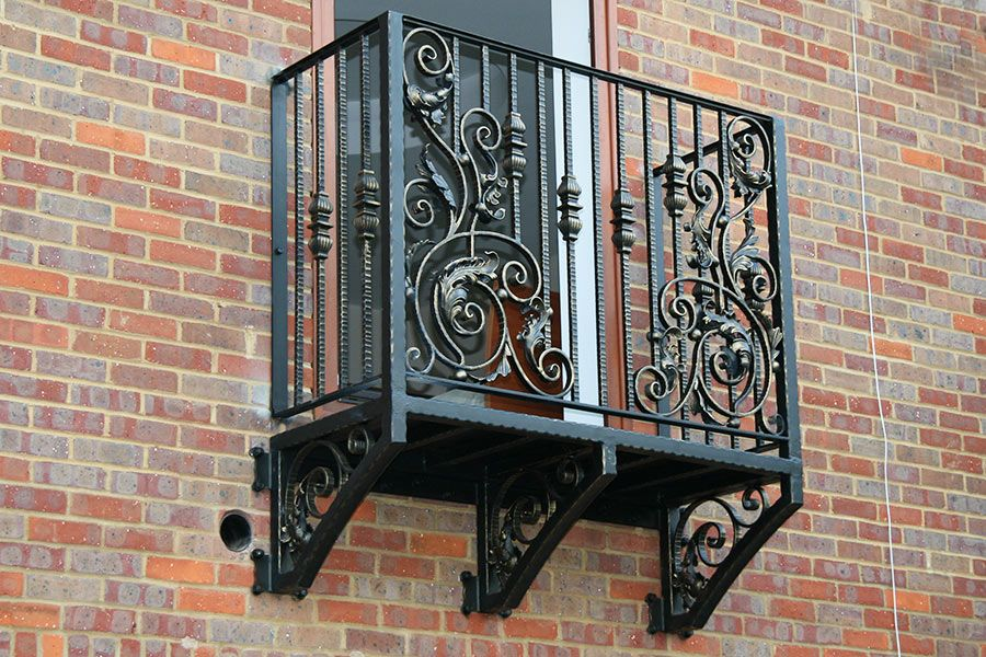 Beautiful Wrought Iron Balconies In Unique Designs True And Faux Available 0 Finance Visit Europe S Largest Balcony Showroom