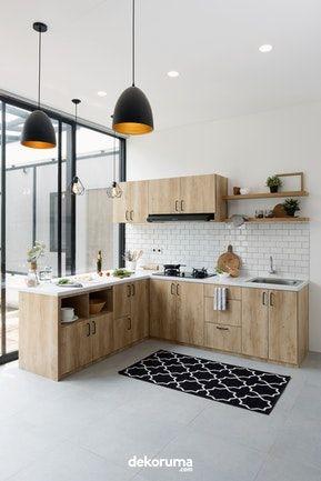 kitchen set scandinavian - dapur ibu erstriarinny