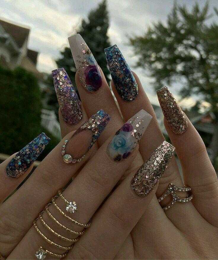 Pin de Madison Laird en Nails | Pinterest | Diseños de uñas, Uñas ...