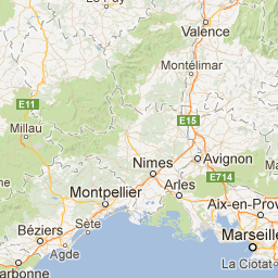 SOUTH EAST OF FRANCE MAP the map of southern France Marseille