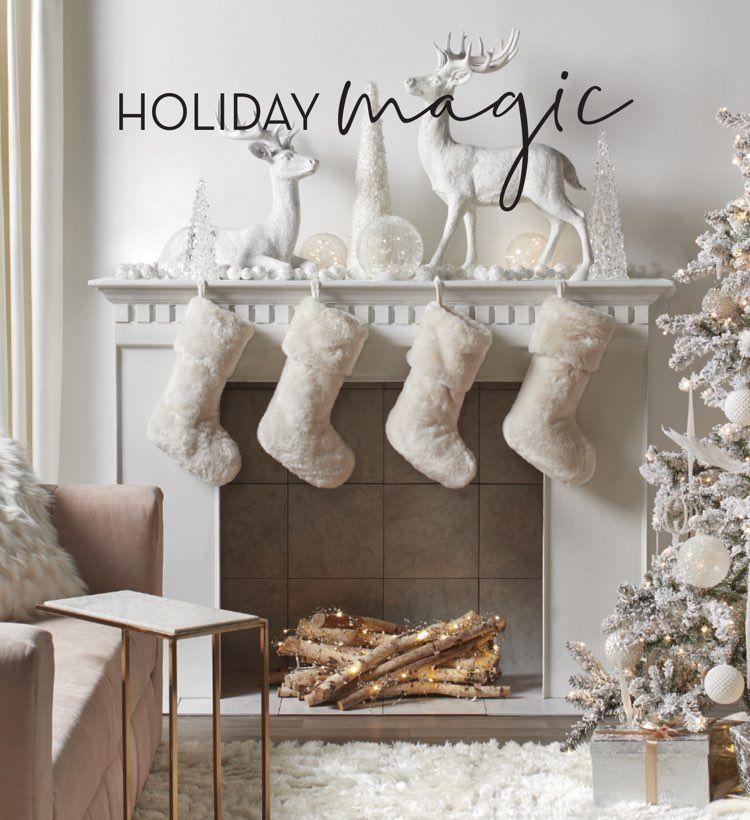 Home Decor Store Affordable Modern Furniture Z Gallerie Modern Holiday Decor Holiday Decor Decor