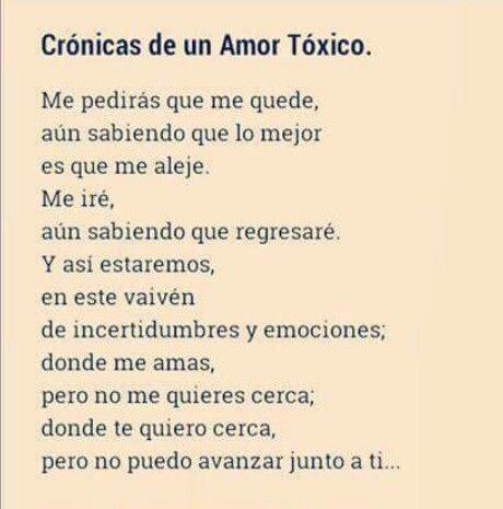 Amor Toxico Pao Teran Love Hurts Love Y Frases