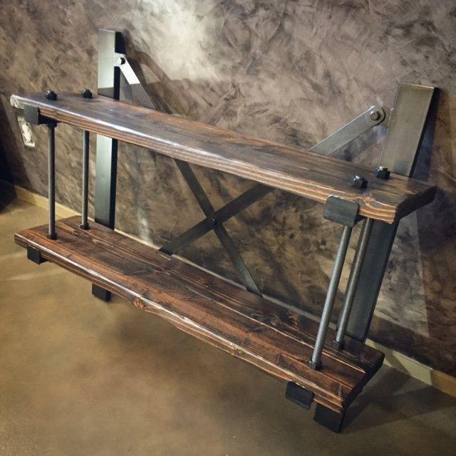 Ironclad vintage industrial muebles industriales for Mesas industriales vintage