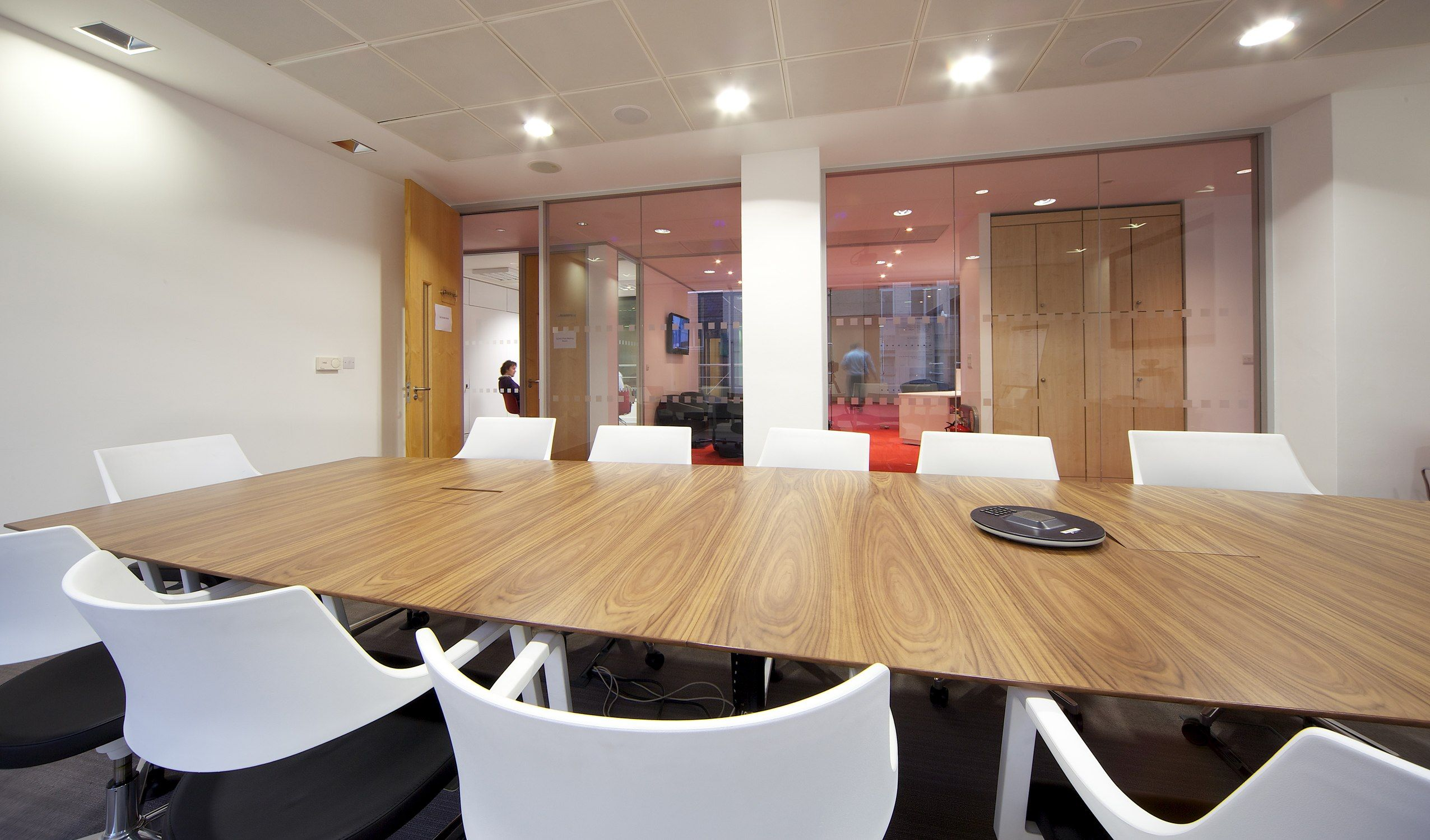 Board room, 0 - 10,000 sq. ft. 6 weeks, London W1, another design and fit out project by www.oktra.co.uk