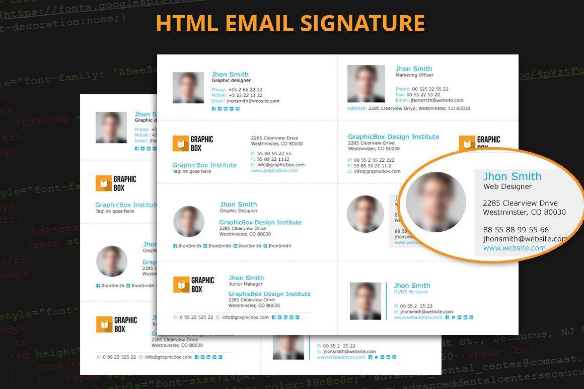 Email Signature Best email signatures, Email signatures