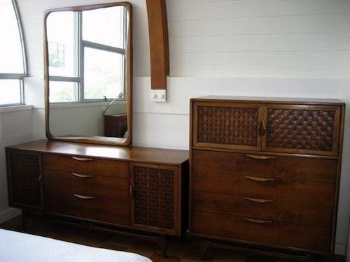 Mid Century Modern Lane Bedroom - $1450 | Mid century bedroom, Mid ...