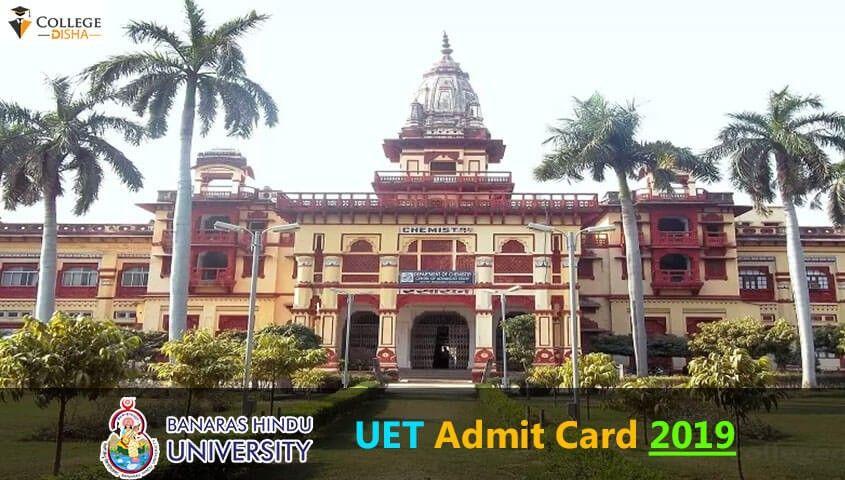 Bhu Pet Admit Card 2019 Banaras Hindu University Will Be Publishing The Admit Cards Of Bhu Pet 2019 Exams In T Banaras Hindu University Voter Card Aadhar Card