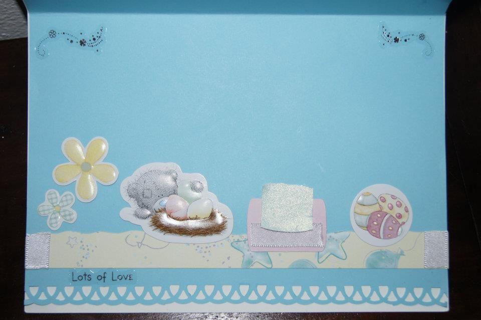Easter card - inside