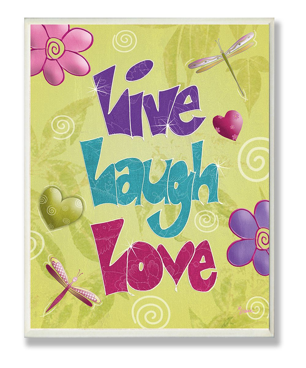 Live Laugh Love\' Wall Art | cool coutes & funny pics! | Pinterest