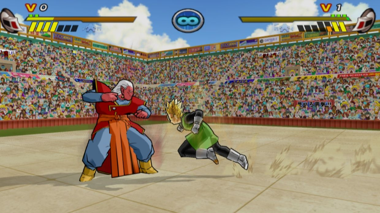 Gohan Shows His Super Saiyan Powers To Kibito In The World Tournament Dbz Budokai 3 Mod Kibito Shown As A Playable Character