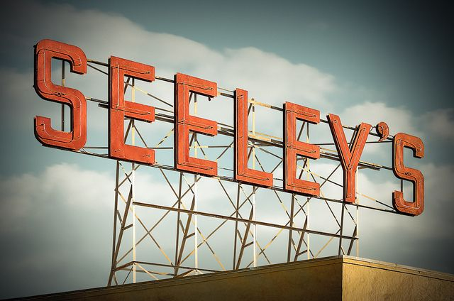 Seeley's Furniture by Shakes The Clown, via Flickr