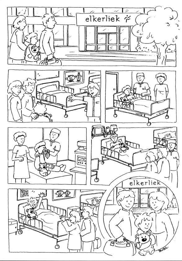 Kleurplaat Kast Zwart Wit Kleurplaten Ziekenhuis