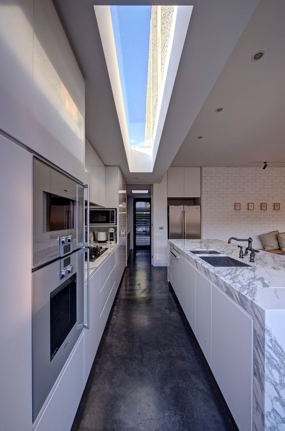 For Galley Kitchens Contemporary Galley Kitchen Design Ideas Yes Yes Go