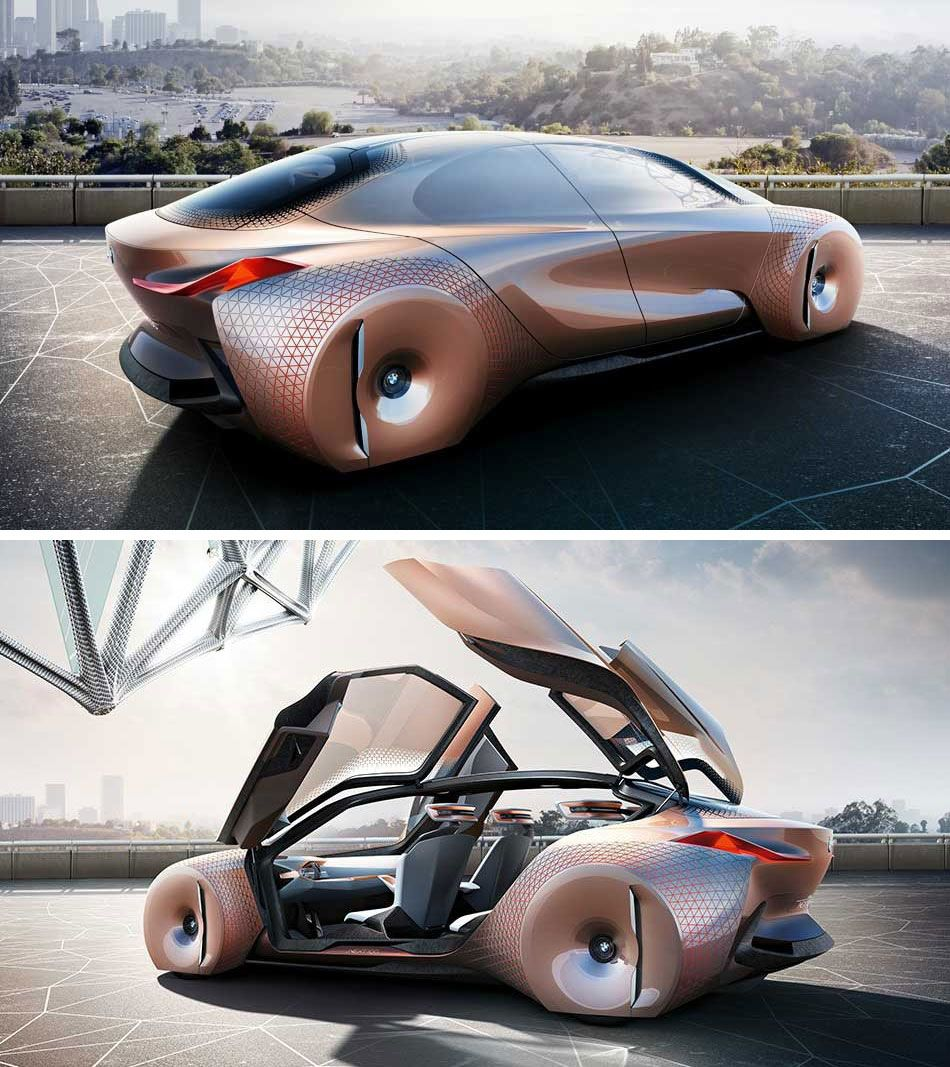 bmw 39 s concept car is a shape shifting danger sensing chariot of the future bmw. Black Bedroom Furniture Sets. Home Design Ideas