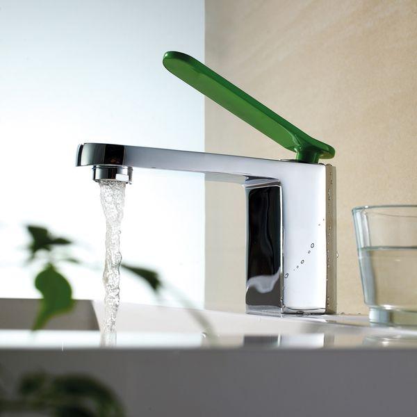 Chrom Grun Design Einhebel Badezimmer Bad Armatur Mit Waschbecken