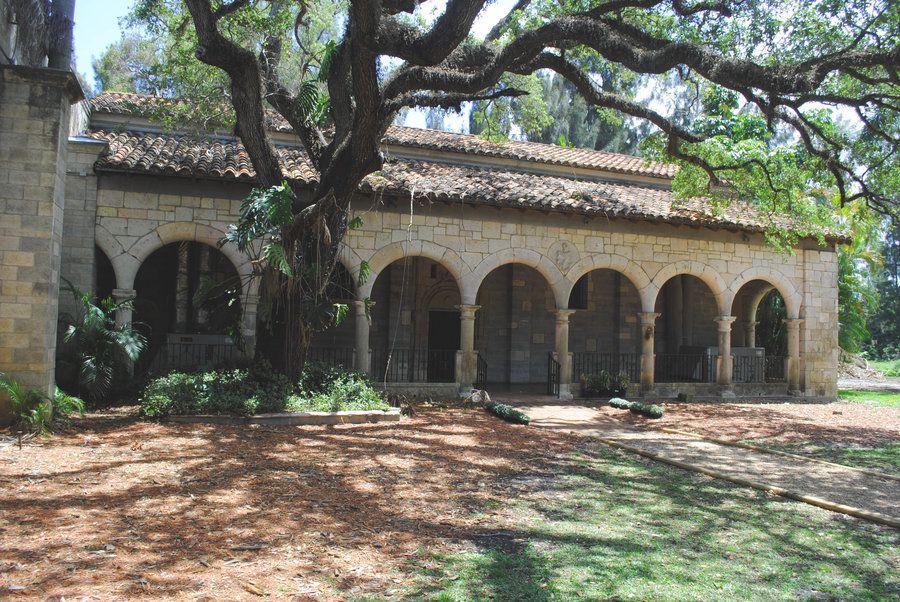 The Ancient Spanish Monastery Florida tourist