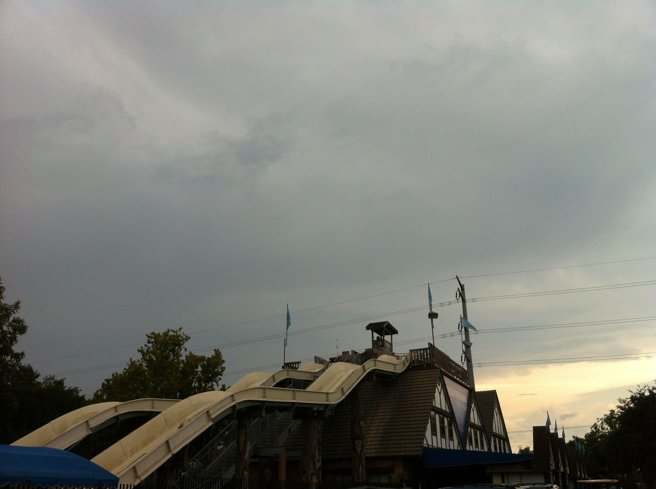 rain clouds won't get me down!