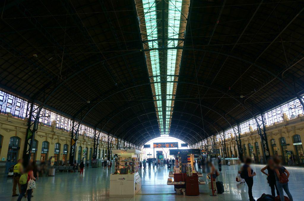 2014初夏・スペイン鉄道音楽美術紀行 37:バレンシアの豪華レトロ駅舎、ノルド(北)駅 - 天燈茶房 TENDANCAFE