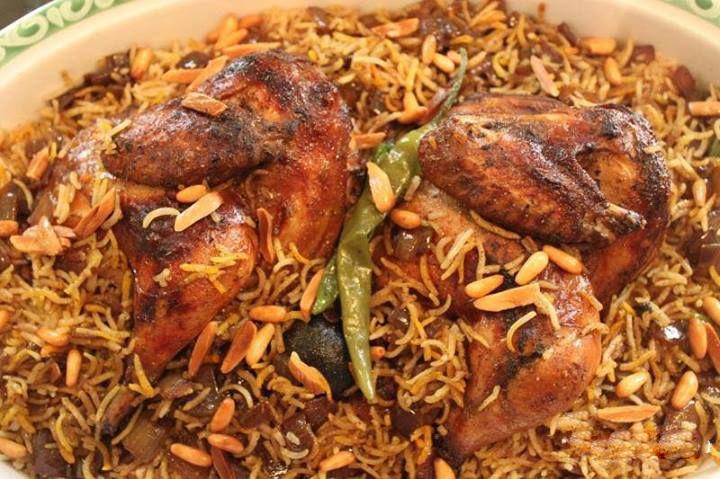 كبسة الدجاج الشهية الوصفة الخليجية شبكة اصداء Food Snapchat Traditional Food Food