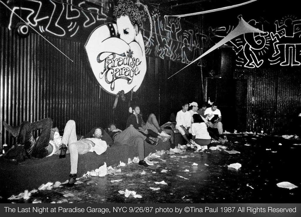 Paradise Garage The Last Night 26 09 1987 Paradise Garage Larry Levan Dance Music