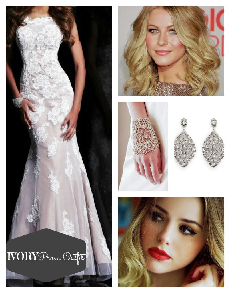 Ivory prom outfit dream prom pinterest prom outfits prom and