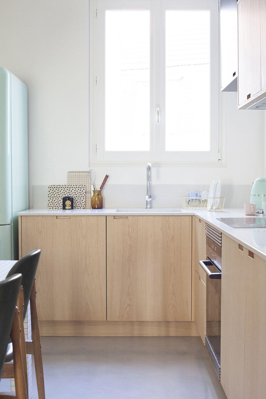 r novation appartement paris heju studio k che pinterest r novation appartement paris. Black Bedroom Furniture Sets. Home Design Ideas