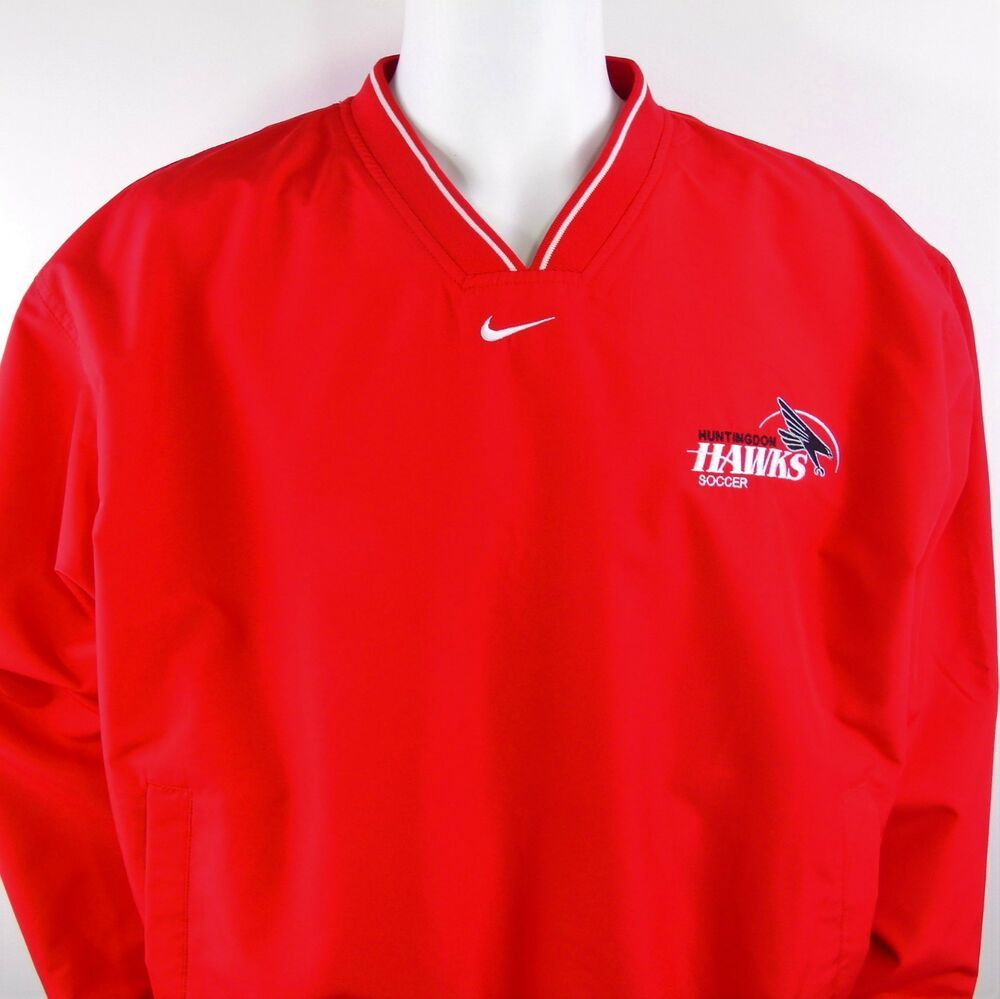 NIKE TEAM Soccer Pullover Starter Throwback M Jacket