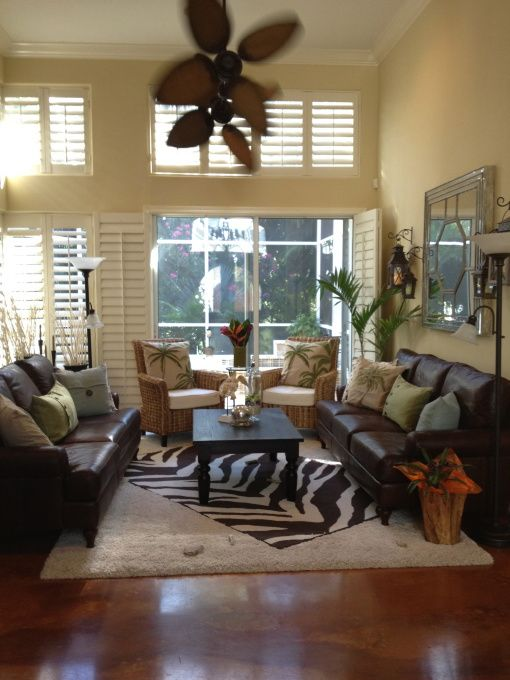 Ju0027adore Decor: British West Indies Style That Could Work With Lil Zebra Rug