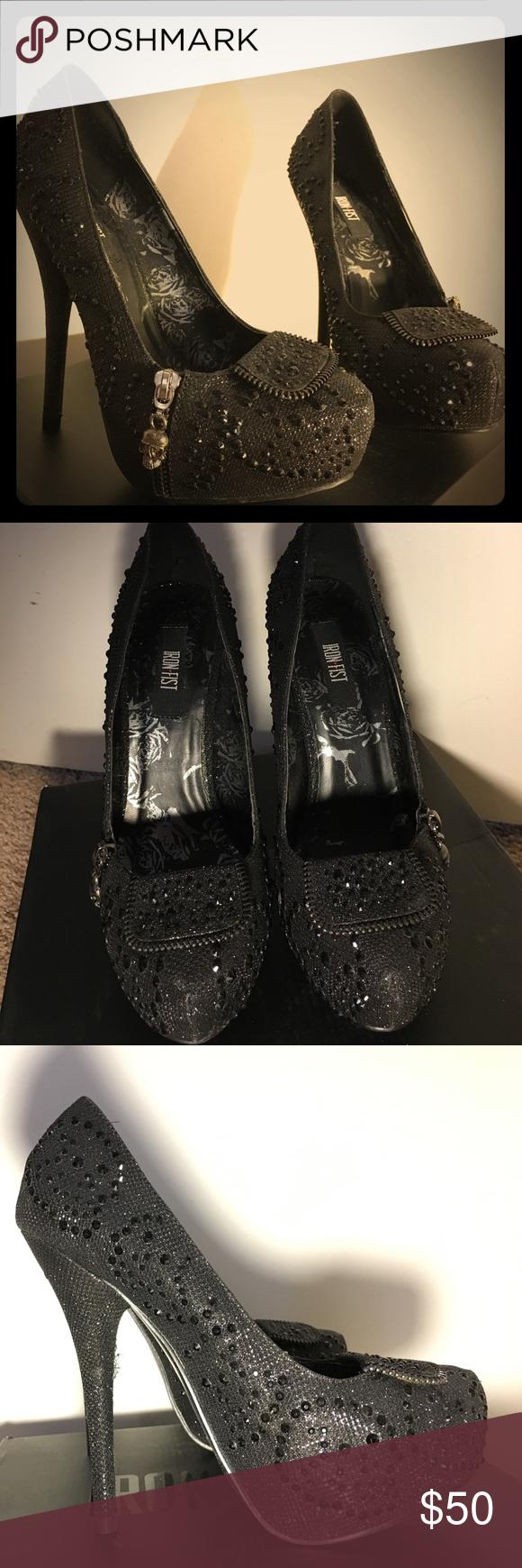5247cd6c4d4 Iron First - Dark Crystal Platform Heels These authentic