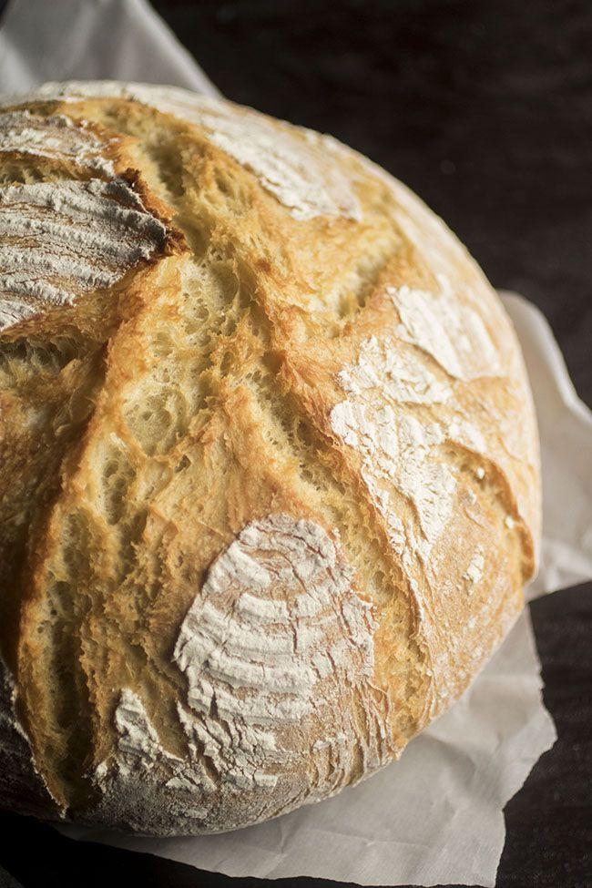 Easy Crusty French Bread | Recipe | Dutch oven bread ...