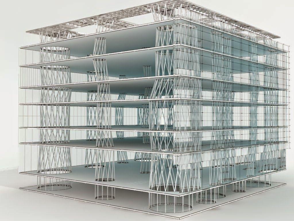 Amedeo liberatoscioli mediateca di sendai toyo ito la for Architetto giapponese