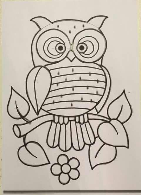 Buho bordar | owls | Pinterest | Bordados mexicanos, Bordado y Mexicanos