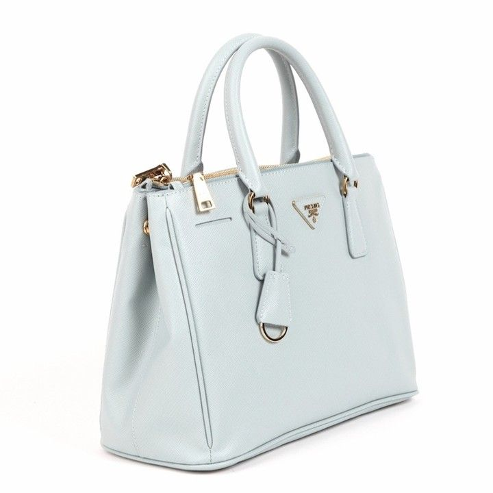 94206db01e7c ... discount prada calf saffiano leather handbag bn2274 light blue from  discountpluss for 1900.00 on square market