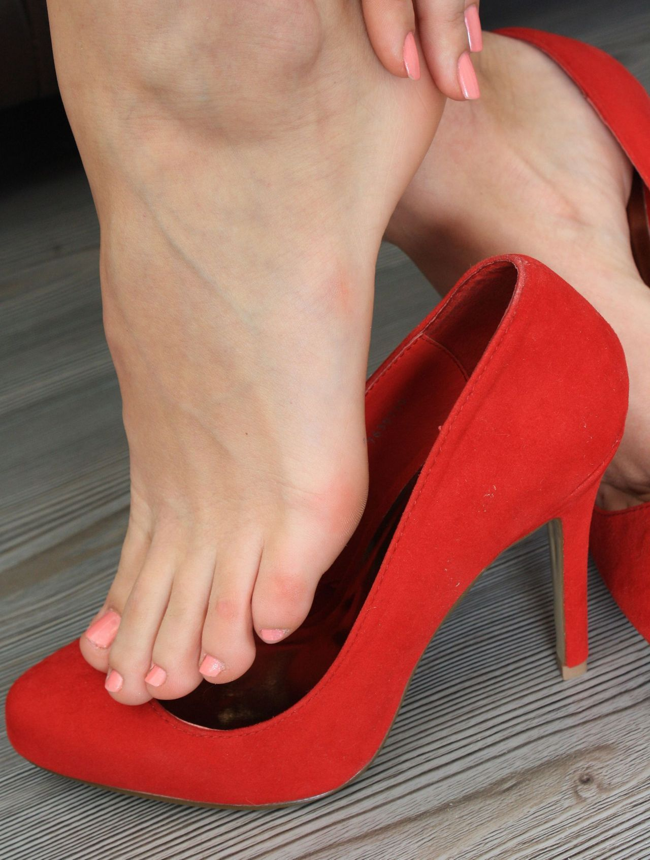 Womens health foot fetish