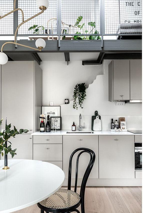 Petite cuisine très fonctionnelle ! floor Pinterest Attic