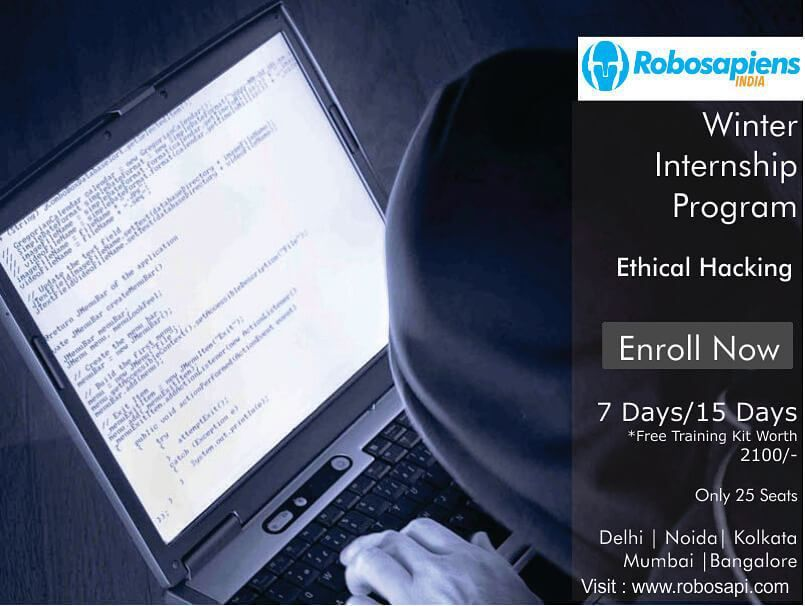 Something we loved from Instagram! This Winter get busy with Robosapiens Winter Internship Program... Get Expert training and the best in class experience... Registration  Starts!!! Register here : http://goo.gl/7bcYhJ  Limited Seats Available.. #robosapiens #robomartindia #winter #training #robotics  #matlab #8051 #raspberrypi #arduino #automobile #pcb #android #quadcopter  #ethicalhacking by robosapi Check us out http://bit.ly/1KyLetq