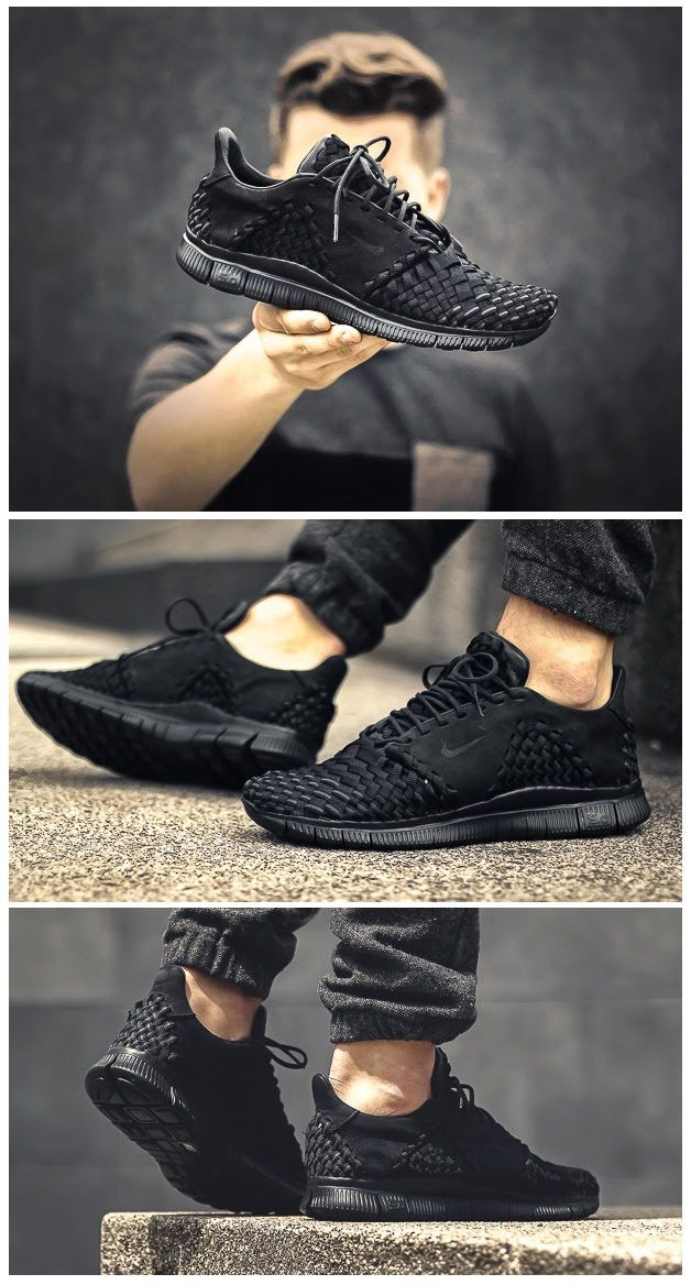 Nike Free Inneva Woven  Black - popular mens casual shoes 8d926b1b0729