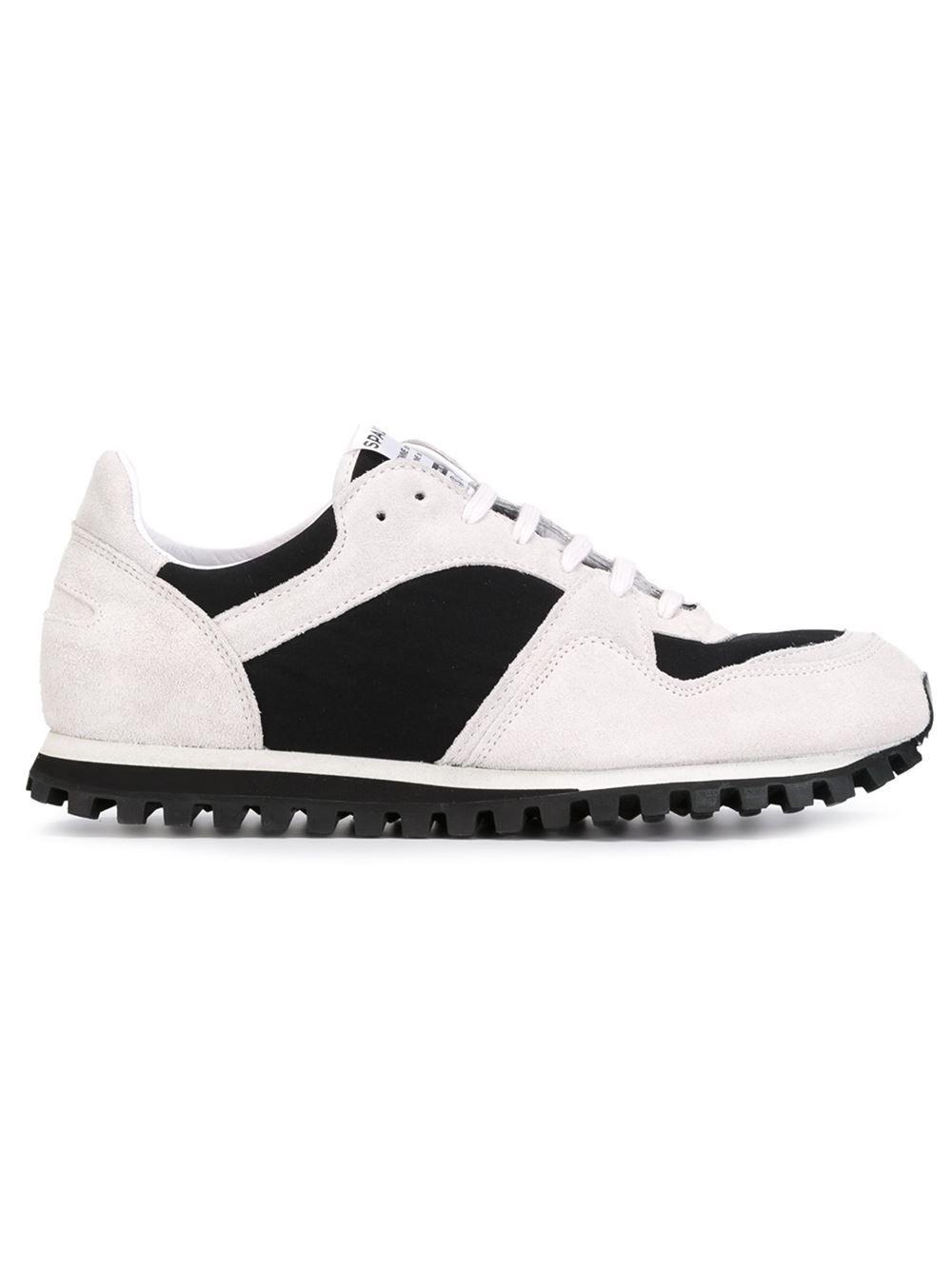 1023b0be9e31a9 Comme Des Garçons Comme Des Garçons Spalwart X Cdg Cdg Panelled Sneakers -  Hervia Bazaar - Farfetch.com