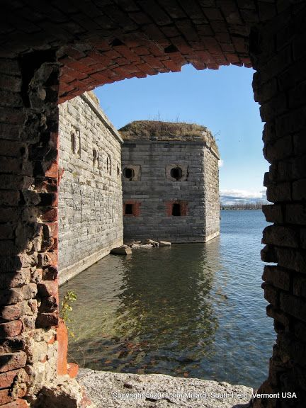 Fort Montgomery Ruins Rouses Point Ny Lake Champlain Lake Champlain Places To Go Old Fort