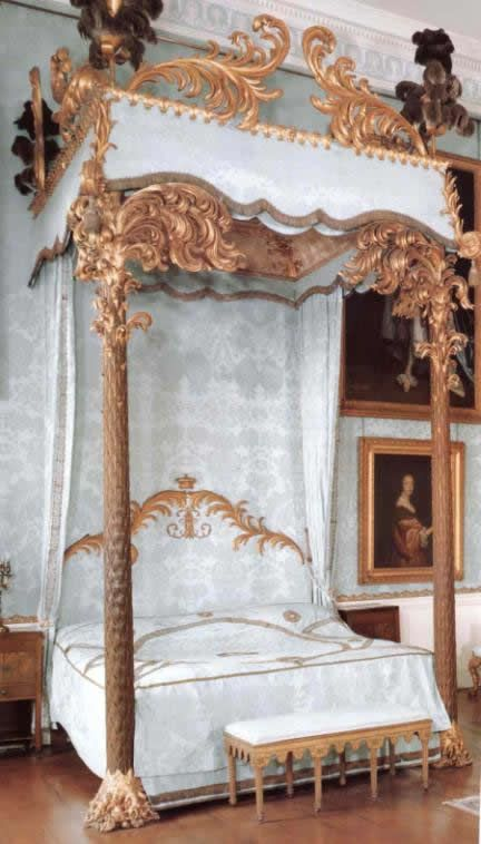 Dutch Neoclassic Bed Circa Late 18th Century Follows The