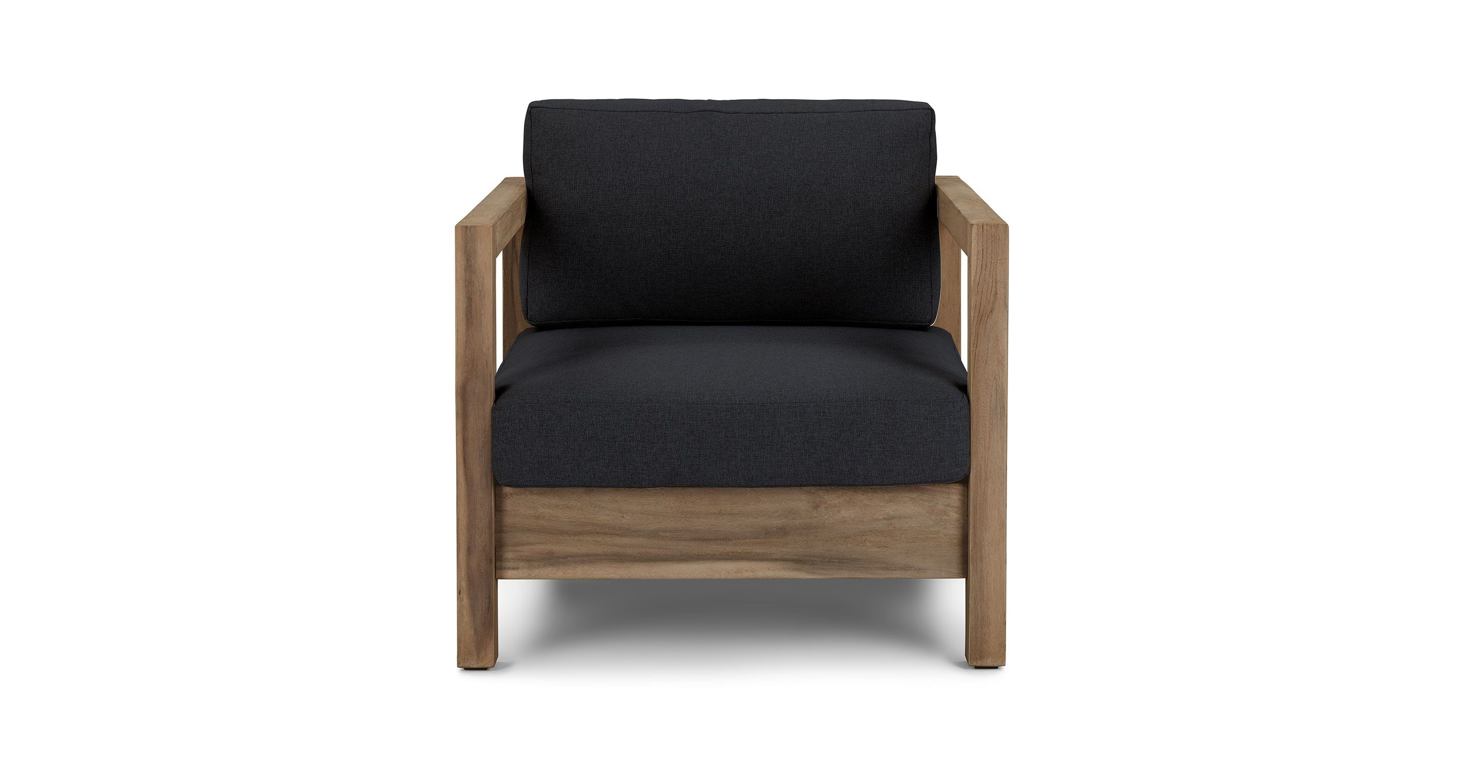 Arca Vintage Brown Lounge Chair  Lounge Chairs  Article