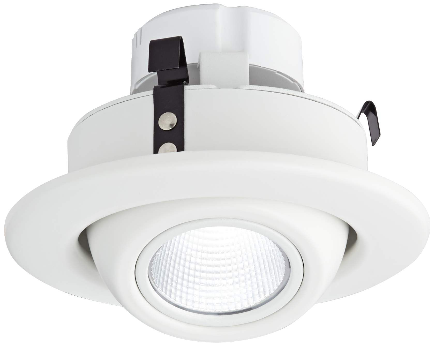 Recessed Lighting 4 White Eyeball 10 Watt Led Retrofit Trim Recessed Lighting Recessed Spotlights Halogen Lamp