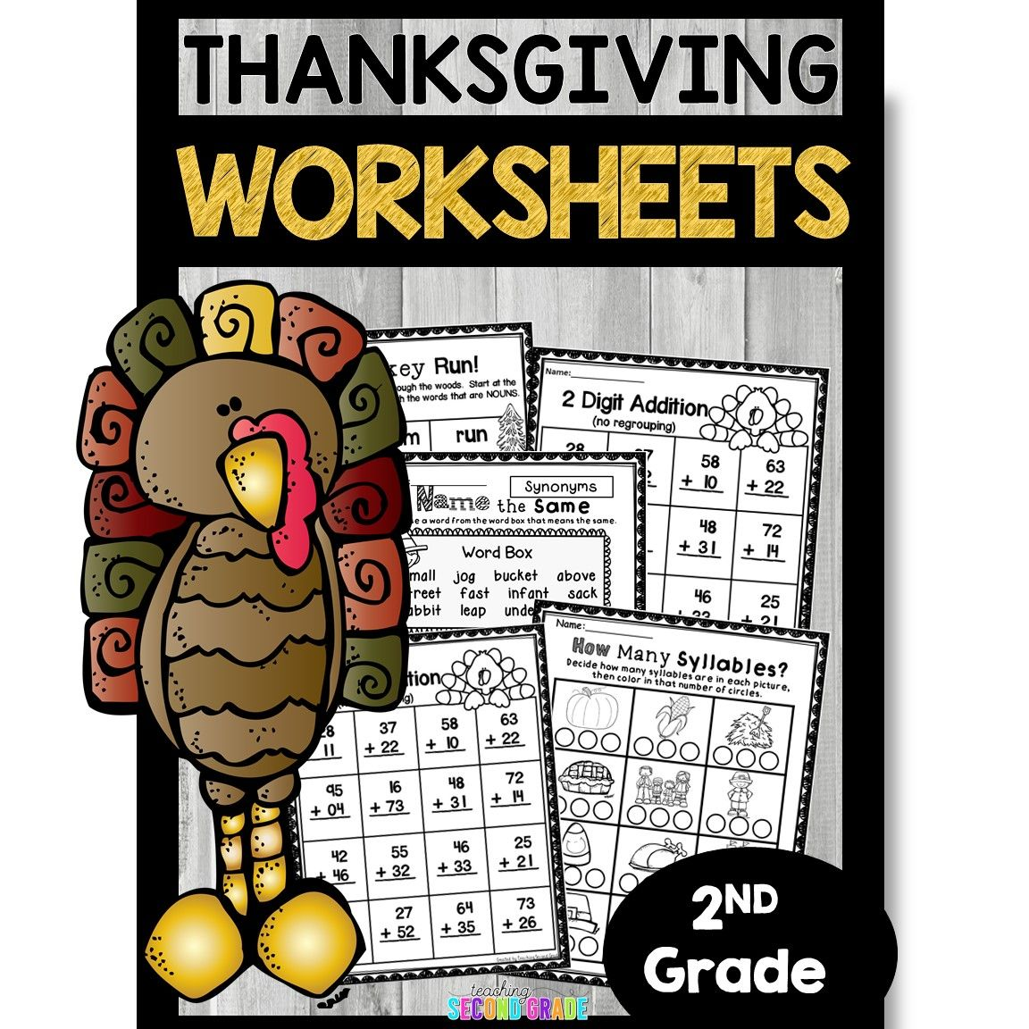 Thanksgiving Worksheets And Activities With Images