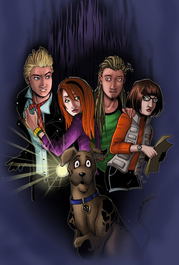 Scooby doo spooky forest by on deviantart tv shows movies - Personnage scooby doo ...