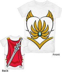 She-Ra Title Masters Of The Universe Sublimation Junior T-Shirt