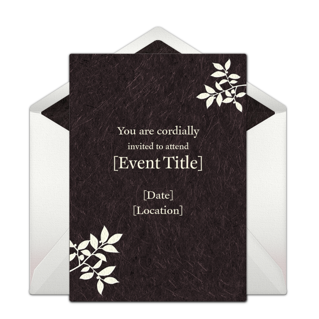 Pin By Anisha On Wedding Invites Simple In 2019: Free Simple Floral Invitations In 2019