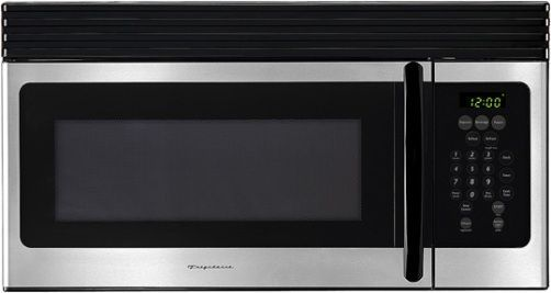Over The Range Microwave Oven With Watts 10 Levels Gl Turntable And 300 Cfm Venting System Stainless Steel Black