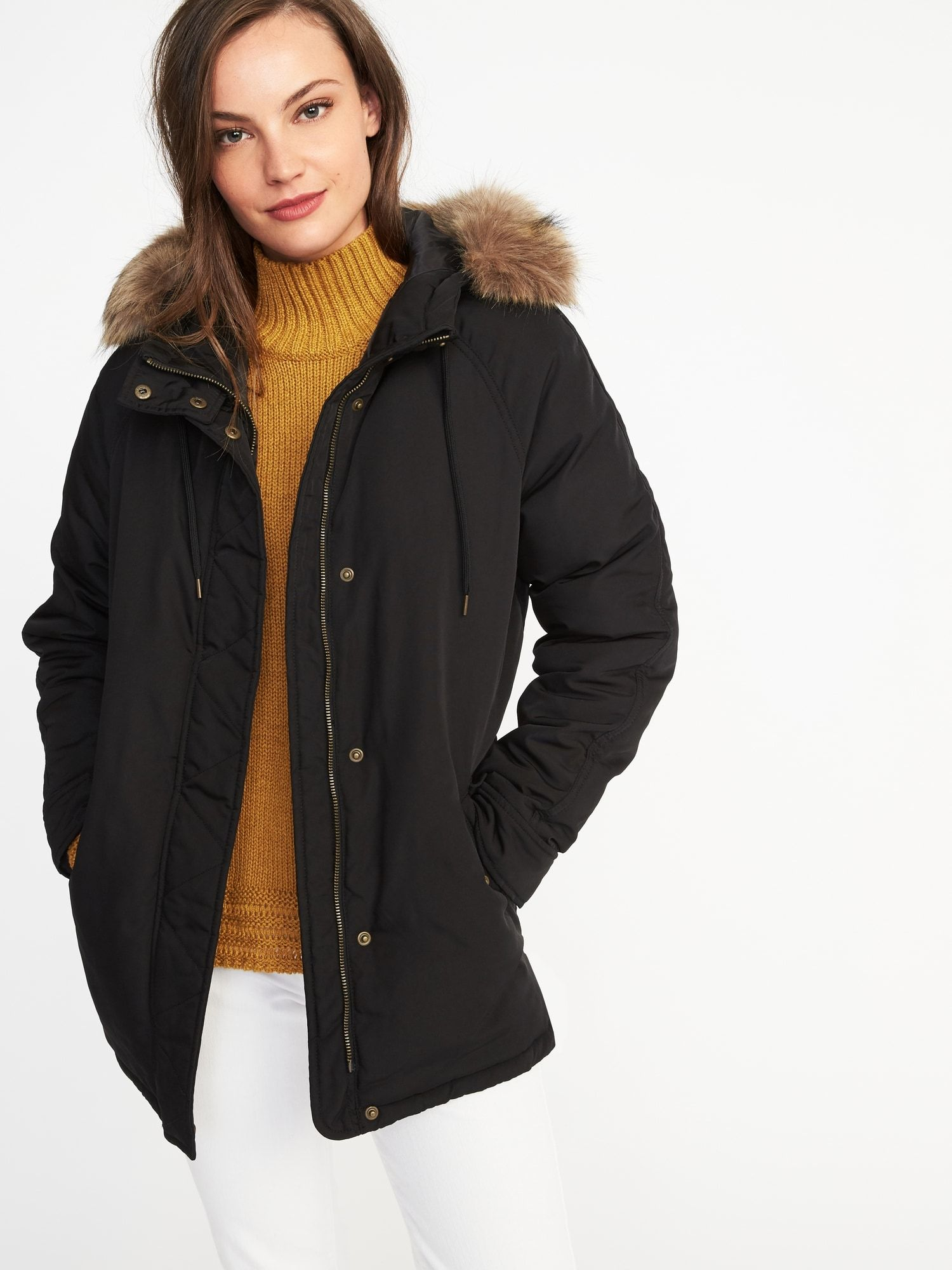 521c78b9139ec Hooded Frost-Free Utility Parka for Women | Old Navy | Closet Needs ...