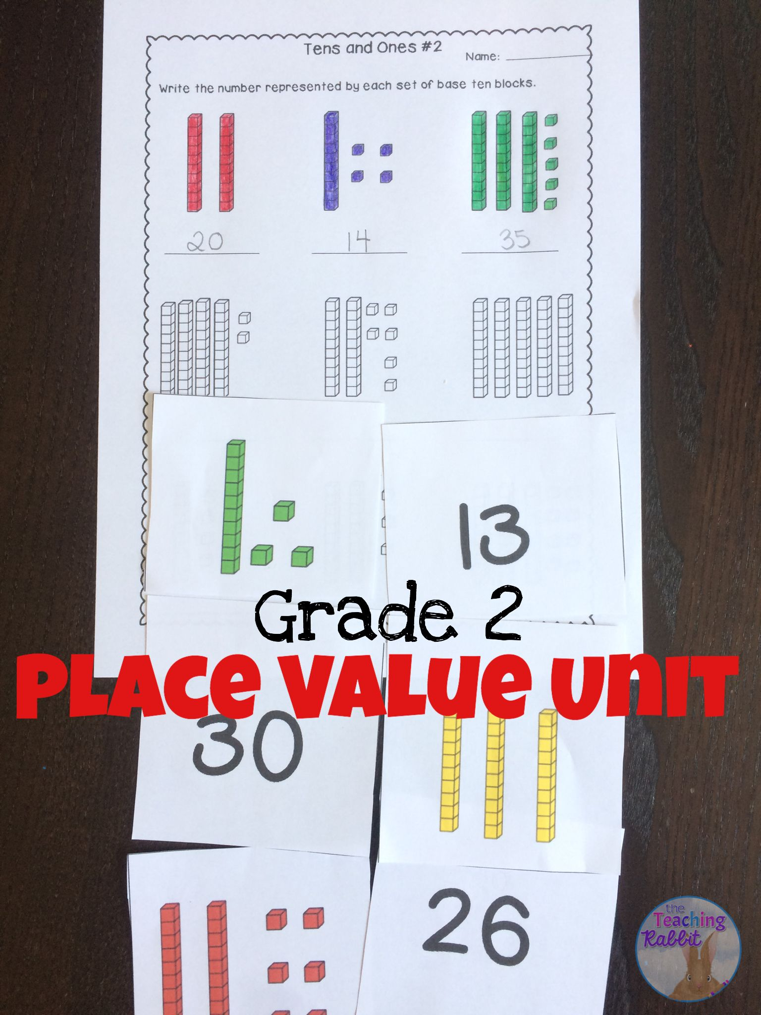 Place Value Unit For Grade 2 Ontario Curriculum