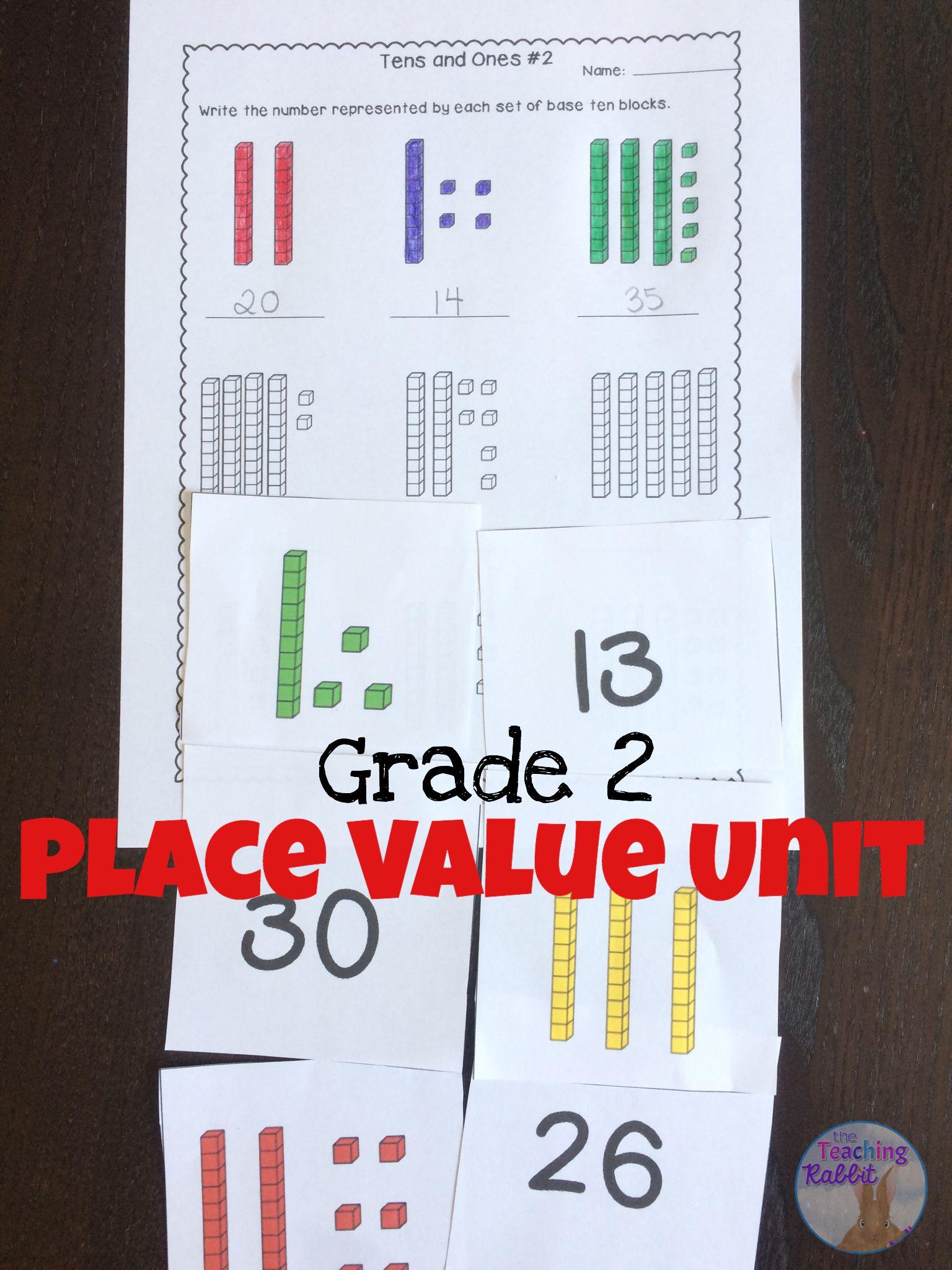 Place Value Unit For Grade 2 Ontario Curriculum